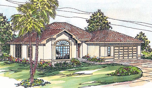 Florida House Plan 69343 Elevation