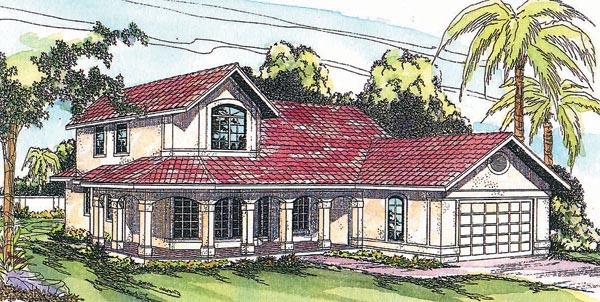 Mediterranean House Plan 69348 Elevation