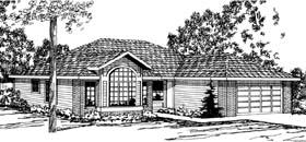 Ranch House Plan 69359 Elevation