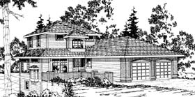 Traditional House Plan 69363 Elevation