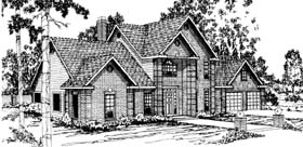 Traditional House Plan 69365 Elevation