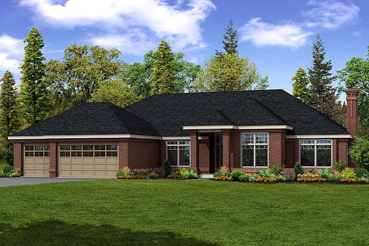 Southwest House Plan 69388 Elevation