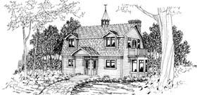 Colonial European House Plan 69392 Elevation