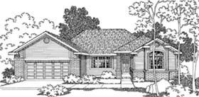 Traditional House Plan 69393 Elevation