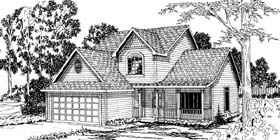 Country House Plan 69402 Elevation