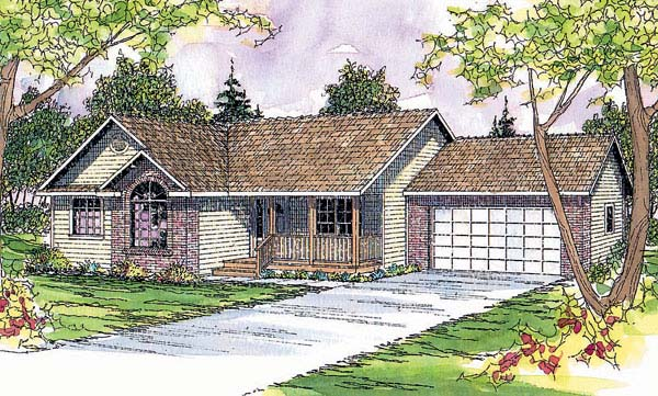 Ranch House Plan 69405 Elevation