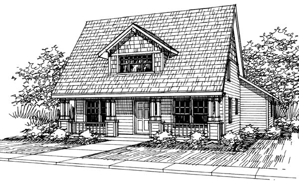 Cape Cod Cottage Country House Plan 69408 Elevation