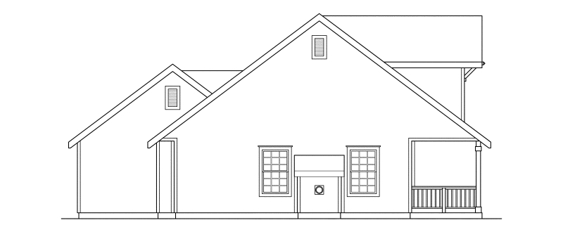 Country House Plan 69410 with 3 Beds, 2 Baths, 2 Car Garage Picture 1