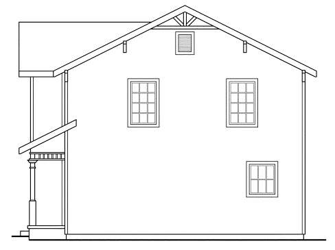 Country, Craftsman House Plan 69413 with 3 Beds, 3 Baths Picture 2