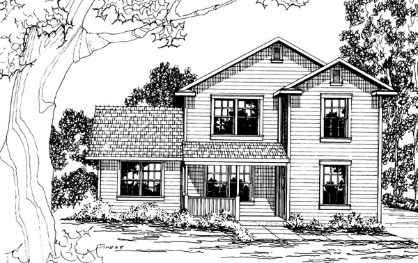 Country House Plan 69414 Elevation