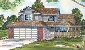 Country House Plan 69416 Elevation