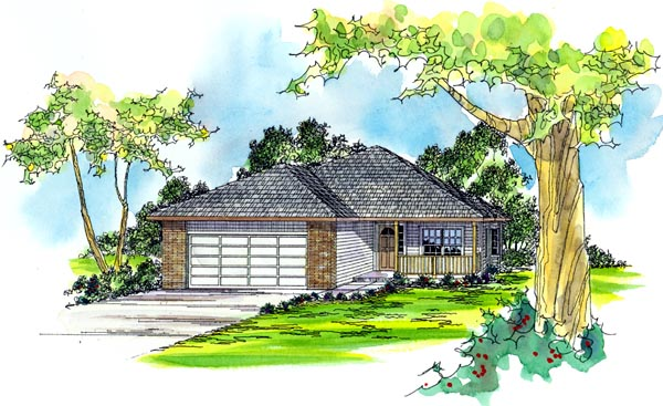 Country Traditional House Plan 69417 Elevation