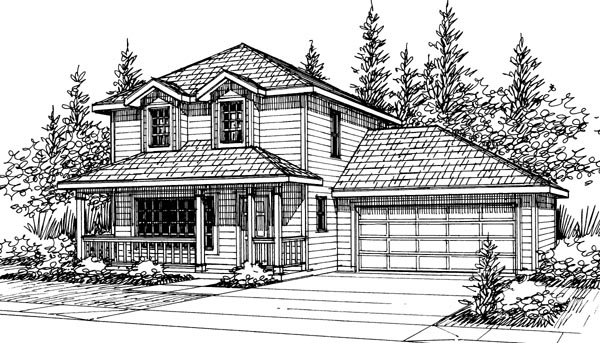 Country House Plan 69419 Elevation