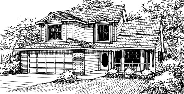 Country House Plan 69421 Elevation