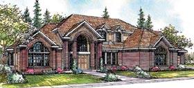 Contemporary European House Plan 69423 Elevation