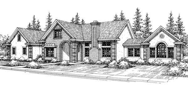 Country House Plan 69425 Elevation