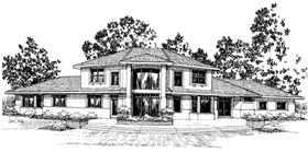 Traditional House Plan 69427 Elevation