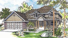 Country House Plan 69431 Elevation