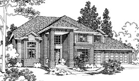 Traditional House Plan 69434 Elevation