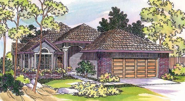 Traditional House Plan 69435 Elevation