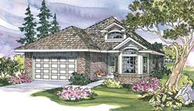 Traditional House Plan 69444 Elevation
