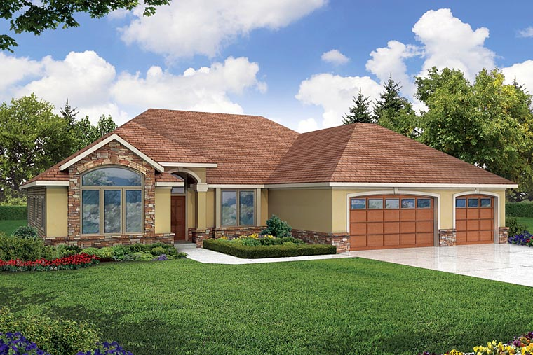 Traditional House Plan 69446 Elevation
