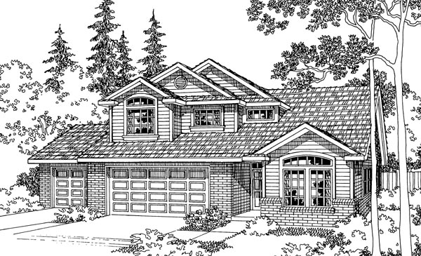 Country House Plan 69448 Elevation