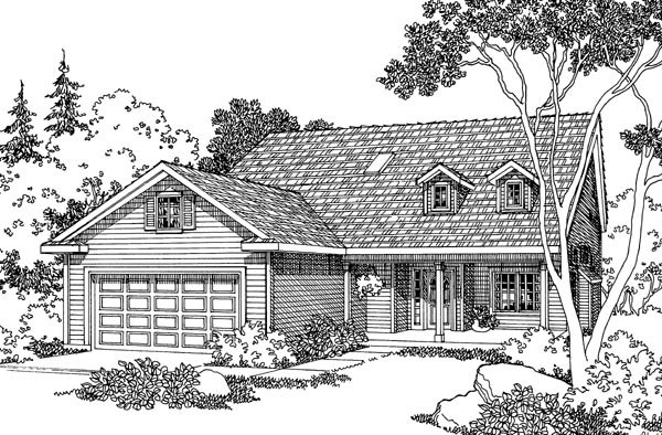 Country House Plan 69453 Elevation