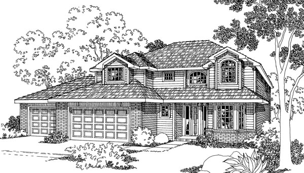 Country House Plan 69455 Elevation