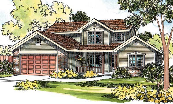 Country House Plan 69458 Elevation