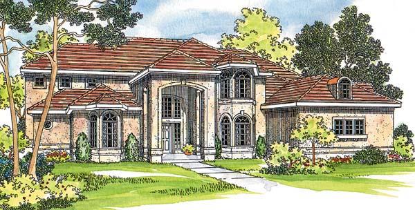 Mediterranean House Plan 69460 Elevation