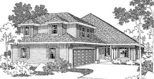 Traditional House Plan 69461 Elevation