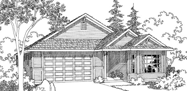 Traditional House Plan 69467 Elevation