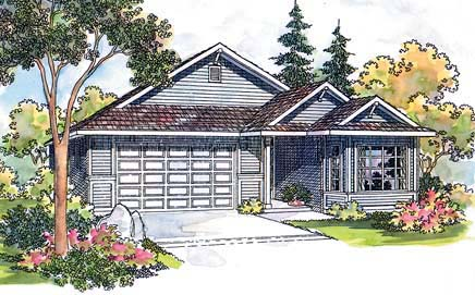 Traditional House Plan 69469 Elevation