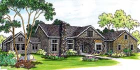 Traditional House Plan 69473 Elevation
