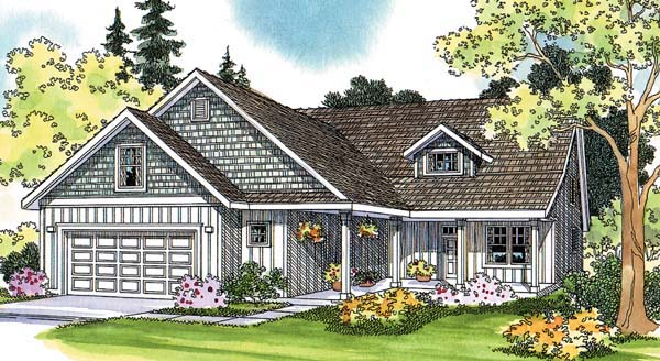 Traditional House Plan 69475 Elevation