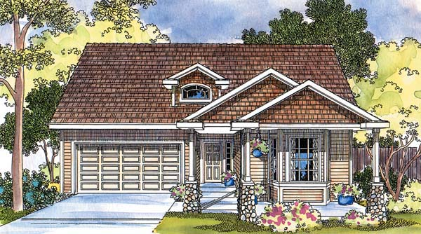 Country House Plan 69476 Elevation