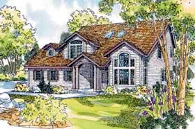 House Plan 69477 | Country Style Plan with 2372 Sq Ft, 3 Bedrooms, 2.5 Bathrooms, 3 Car Garage Elevation