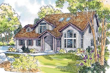 Country House Plan 69477 Elevation