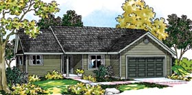 Ranch Traditional House Plan 69479 Elevation
