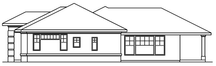 Mediterranean House Plan 69480 with 3 Beds, 3 Baths, 3 Car Garage Picture 2