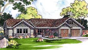 Ranch House Plan 69481 Elevation
