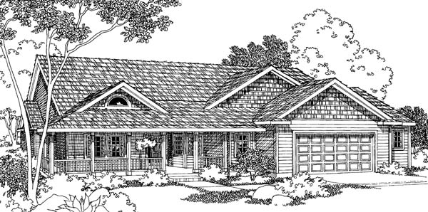 Country Traditional House Plan 69483 Elevation