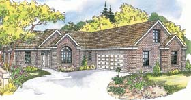 Ranch House Plan 69484 Elevation
