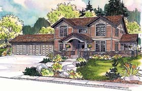 Country House Plan 69487 Elevation