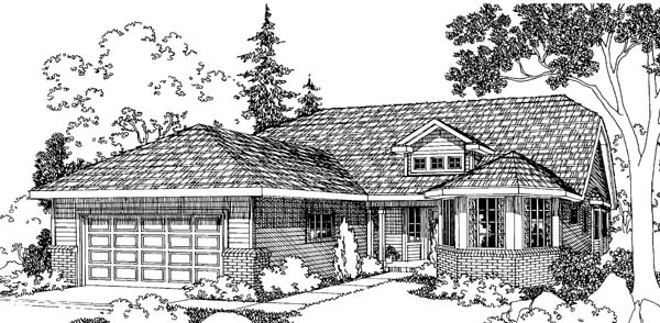 Traditional House Plan 69492 Elevation