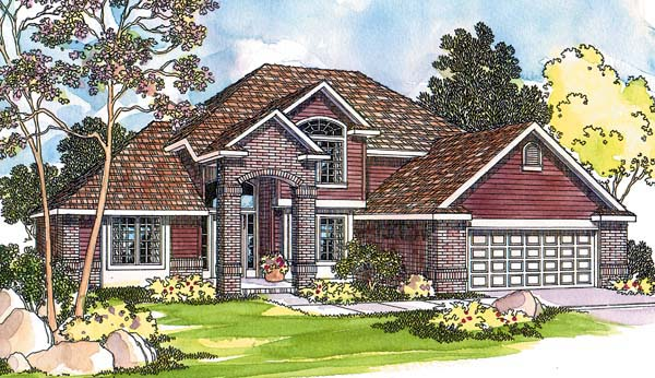 Traditional House Plan 69493 Elevation