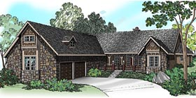 House Plan 69494 | Traditional Style Plan with 3072 Sq Ft, 4 Bedrooms, 3 Bathrooms, 2 Car Garage Elevation