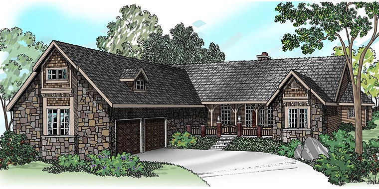 Traditional House Plan 69494 Elevation