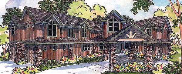 Craftsman House Plan 69499 Elevation